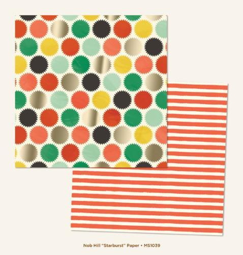 Двустранна дизайнерска хартия - Nob Hill