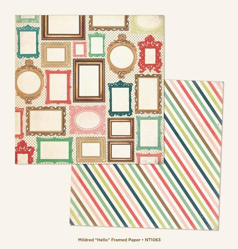 Двустранна дизайнерска хартия - Hello Framed