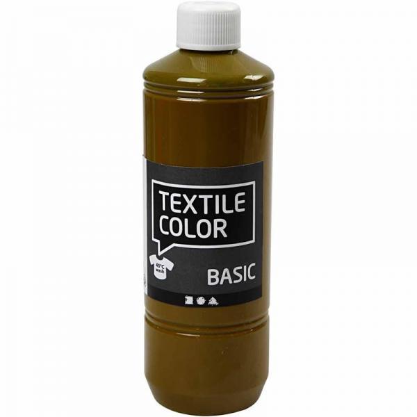 Текстилна боя Schjerning - 500 мл, olive-brown