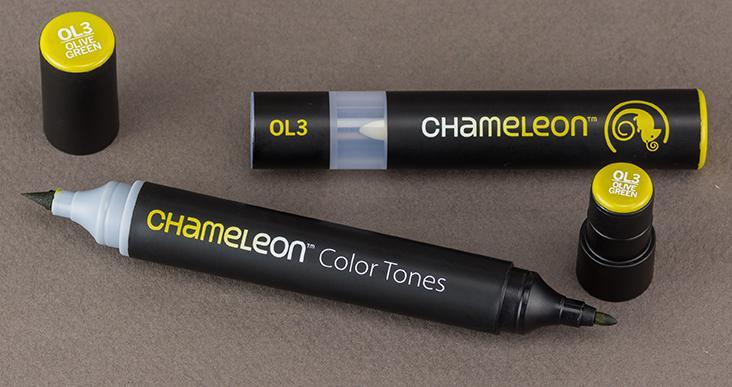 Хамелеон маркер - Olive Green OL3