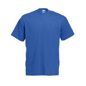 Памучна тениска - синя -  размер 52