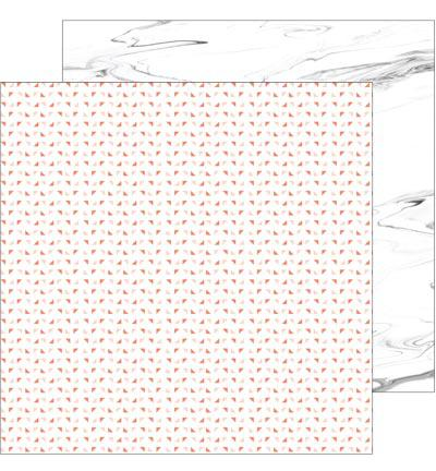 Двустранна дизайнерска хартия -  Live More