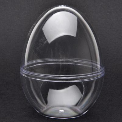 Пластмасово яйце изправено 9 см.