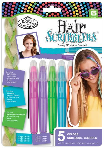 Комплект 5 броя  пастели за коса