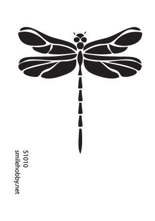 Шаблон за декупаж - 11х16 cm - S1010