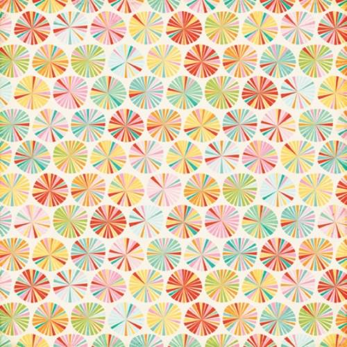 Двустранна дизайнерска хартия - Summer Circles