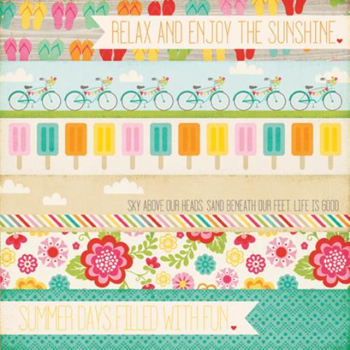 Двустранна дизайнерска хартия - Summer Days
