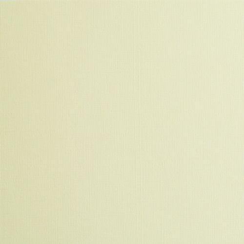 Висококачествен текстурен картон 30,5х31,5 см  230 гр. - VANILLA