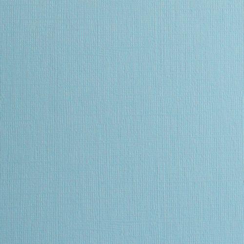 Висококачествен текстурен картон 30,5х31,5 см  230 гр. - BABY BLUE