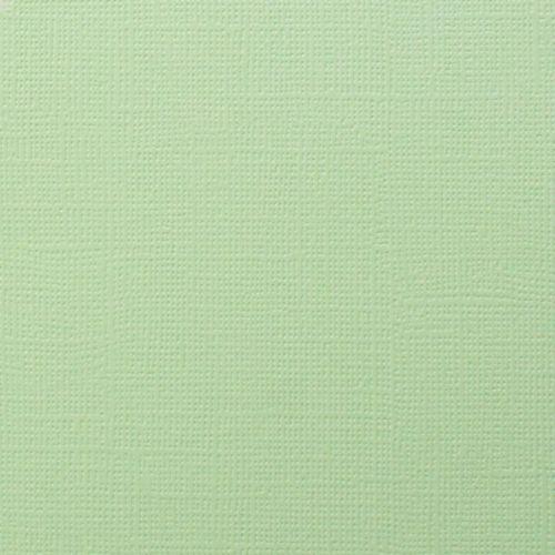 Висококачествен текстурен картон 30,5х31,5 см  230 гр. - MINT GREEN