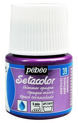 Текстилна металик боя Pebeo 45 мл - Аметис