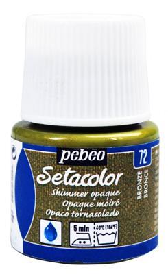 Текстилна металик боя Pebeo 45 мл - Бронз