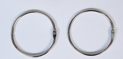 Халки за албуми ф50мм, 2 бр., сребро