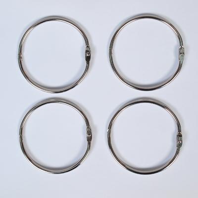 Халки за албуми ф50мм, 4 бр., сребро