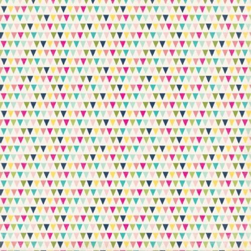 Двустранна дизайнерска хартия - Terrific Triangles