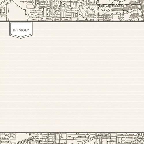 Двустранна дизайнерска хартия - Something Wonderful The Story