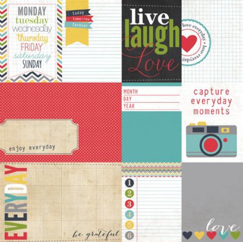 Двустранна дизайнерска хартия - My Life Journaling