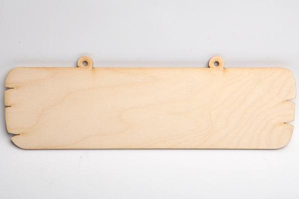 Табелка за надписи - дъска