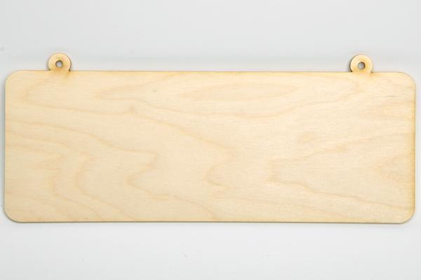 Табелка за надписи - права
