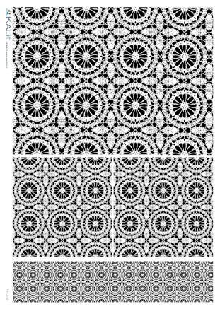 Оризова хартия за декупаж KALit, 32х45 см  - tex_0121