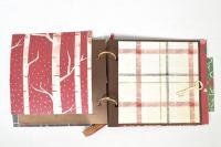 Комплект Направи си сам - Коледен скрапбук албум