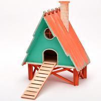 Къщичка за птици - с коминче