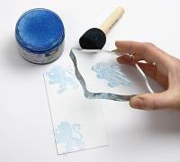 Мастило на водна основа Paper soft Color, 75мл - роза