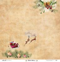 Двустранна дизайнерска хартия 190гр -  Festive Bells