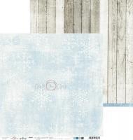 Комплект дизайнерски хартии 12x12 inch, 6 листа 190гр - It's cold outside