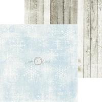Комплект дизайнерски хартии 6x6 inch, 18 листа 190гр - It's cold outside