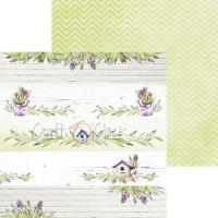 Комплект дизайнерски хартии 6x6 inch, 18 листа 190гр - Spring Bustling