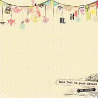 Двустранна дизайнерска хартия - Up and Away Dreams
