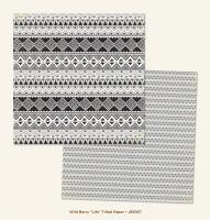 Двустранна дизайнерска хартия - Life Tribal