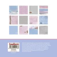 Комплект дизайнерски хартии 24 листа 6x6 inch -  Winter Wonderland