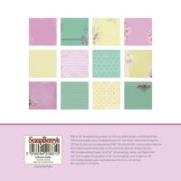 Комплект дизайнерски хартии 24 листа 6x6 inch - Cherished Jewels