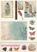 Албум с изрязани елементи за картички 12 листа 170 гр