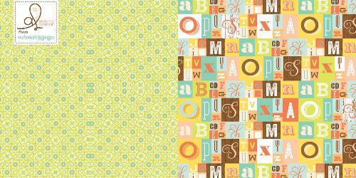 Двустранна дизайнерска хартия - Funny stories